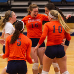 Wheaton College Volleyball vs Augustana : Wheaton College Volleyball vs Augustana, November 2, 2013