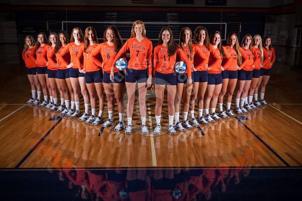 Wheaton College Volleyball Team 2013