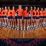 Wheaton College Volleyball Team 2013 : Wheaton College Volleyball Team 2013, August 20